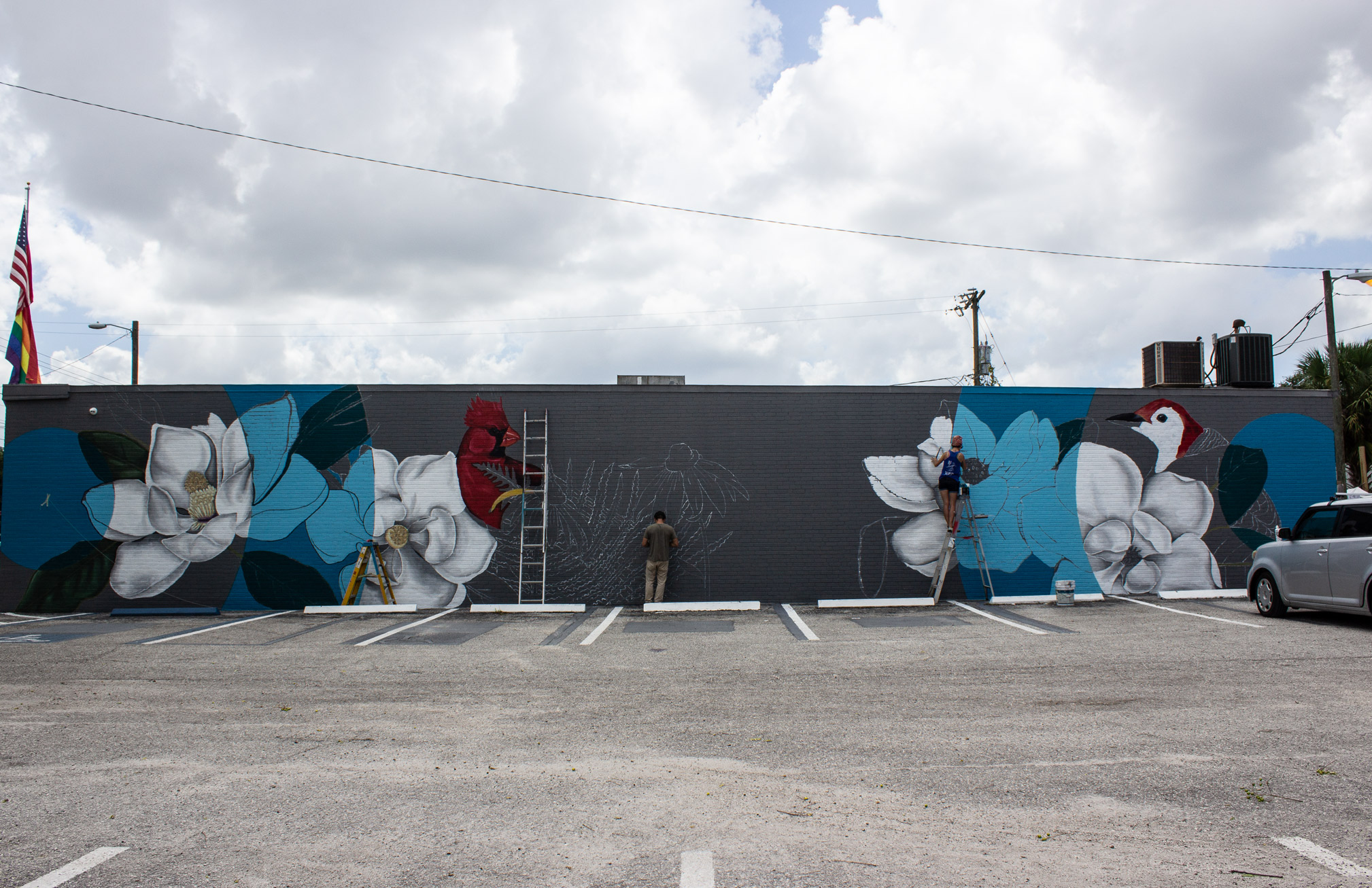 Tampa Heights Community Mural image