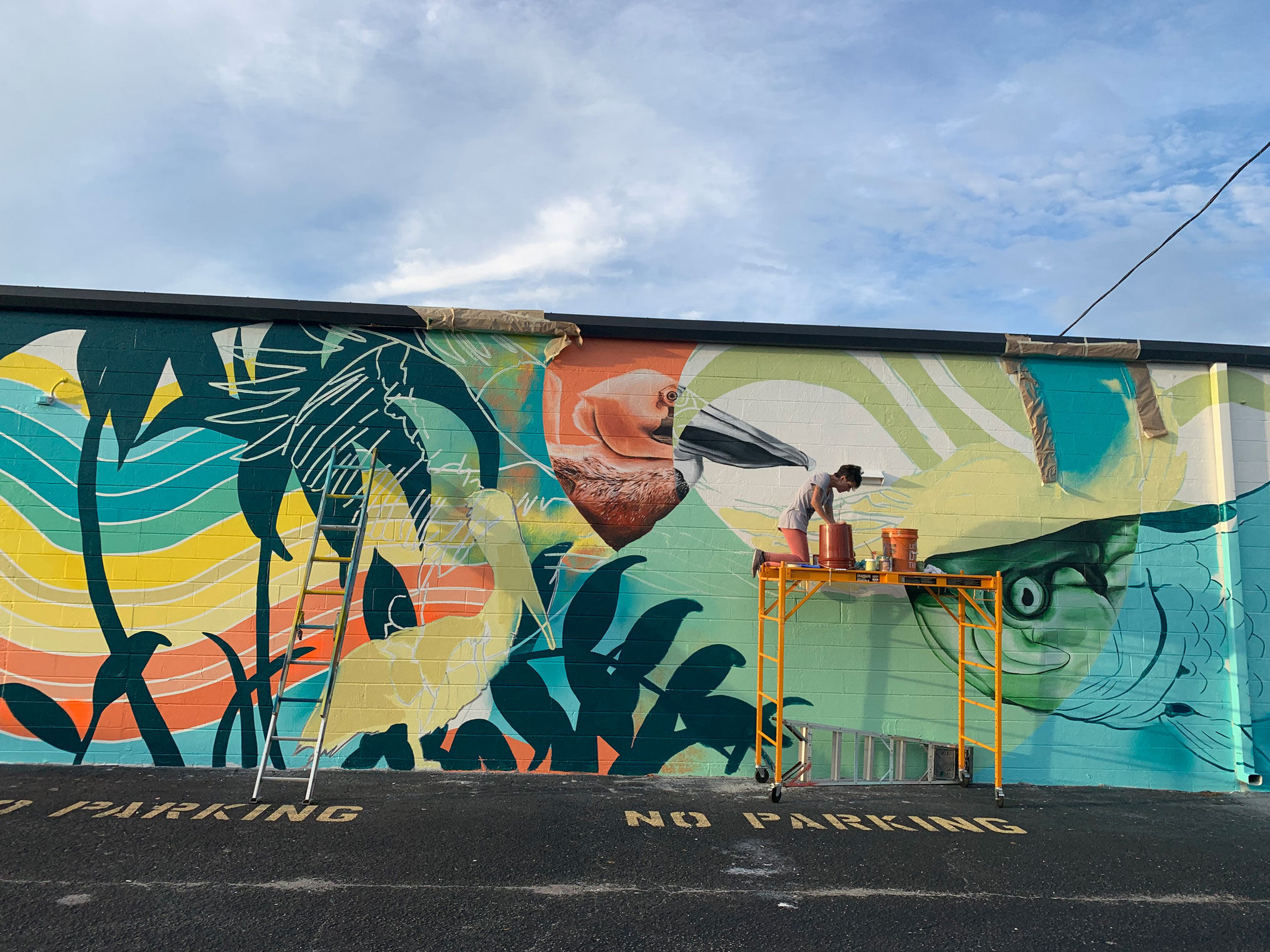 Florida Paints - Exterior Mural image