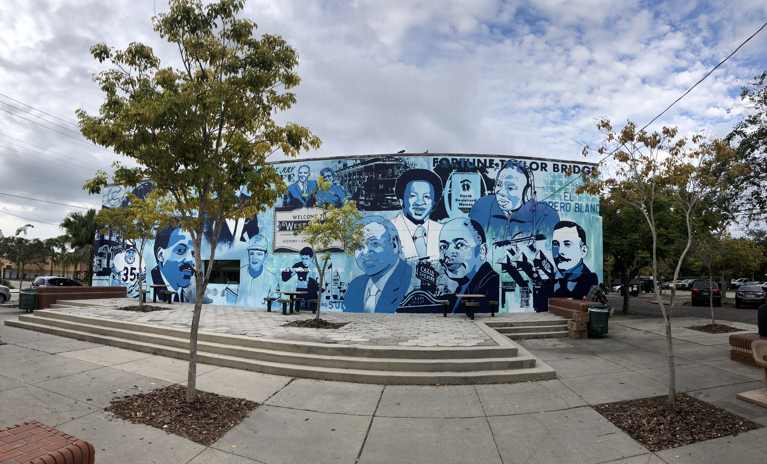 Historical Mural - Faces of West Tampa image