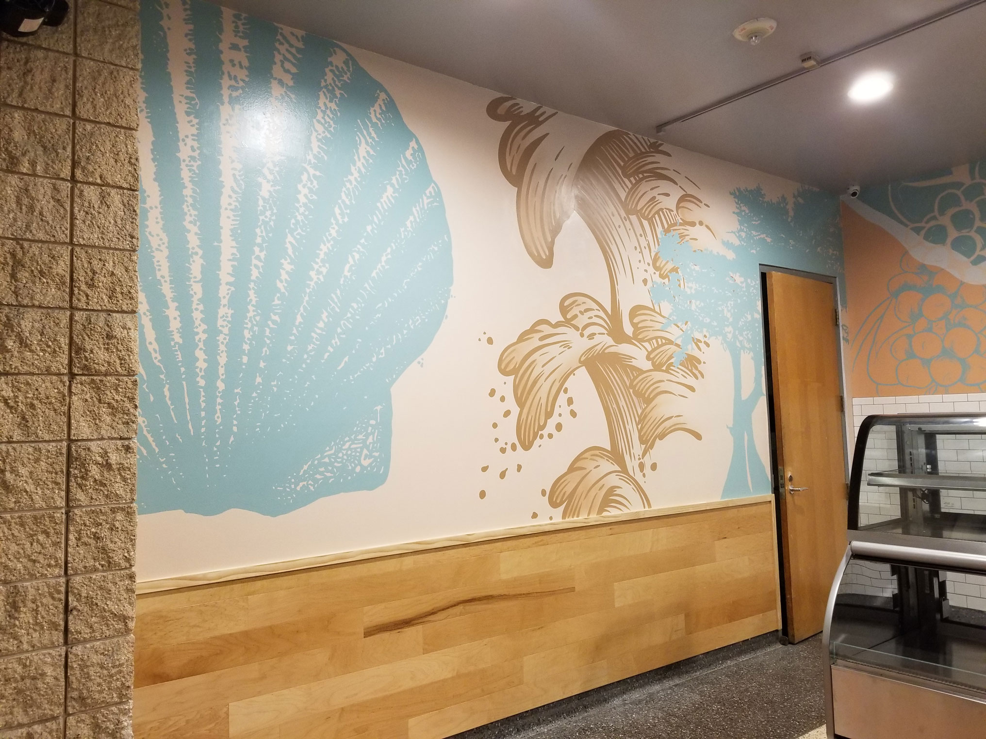 Tampa Convention Center Interior Mural image